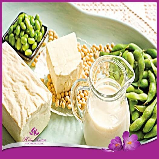thực phẩm bổ sung estrogen