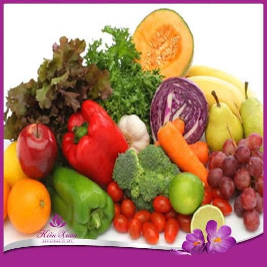 thực phẩm chống lão hóa da