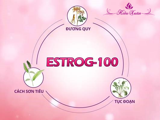 bổ sung estrog 100 cải thiện chứng lãnh cảm tình dục