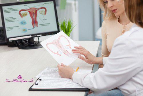 EstroG-100 có dùng được khi đang bị u nang buồng trứng, u xơ tử cung không