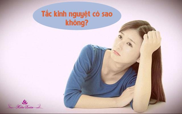 Tắc kinh nguyệt ở nữ giới là bệnh gì? Nguyên nhân và cách điều trị